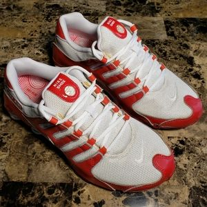 Nike Shox NZ Red Patent Size 8.5 RARE 👈👈
